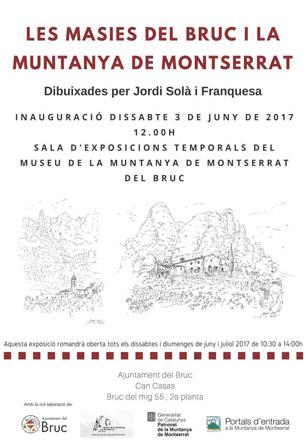Exposició les Masies del Bruc i Montserrat