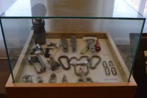 Museu del Bruc Escalada vitrina
