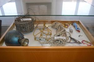 Museu Bruc Espeleologia vitrina