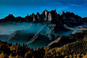 Vistes de Montserrat des de Marganell