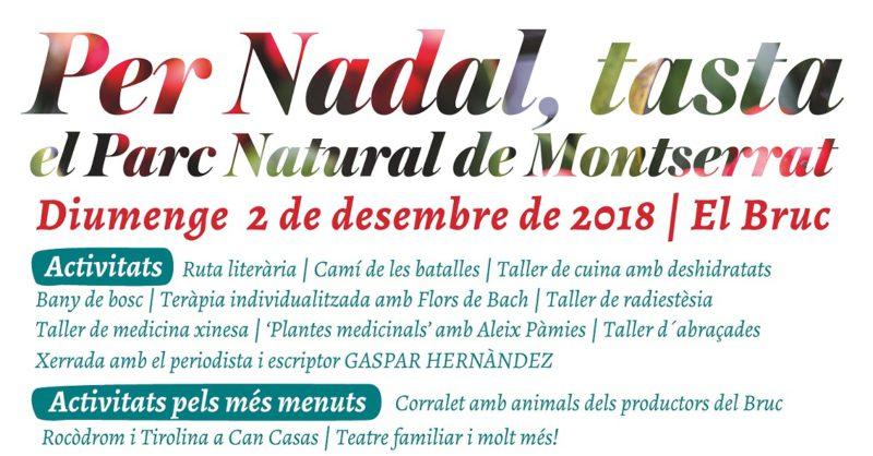 Cartell Fira de Nadal El Bruc 2018
